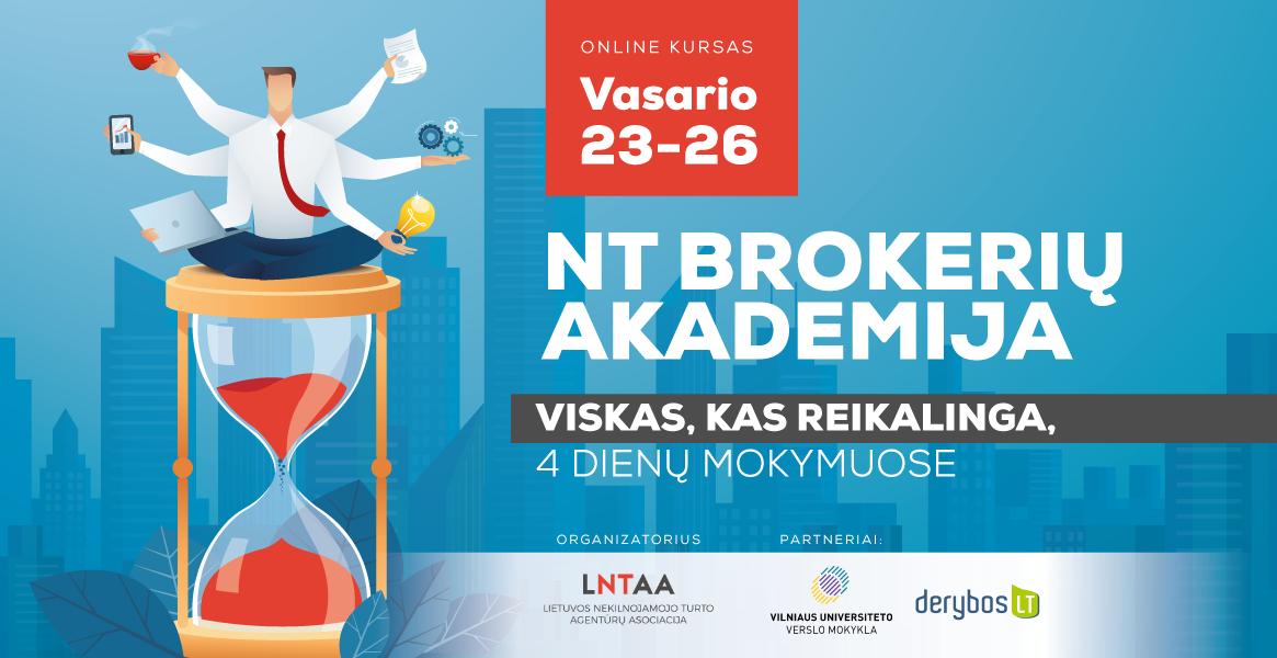 NT Brokerių akademija